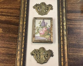 H. Hal Kramer Co. 3D Antique Flower Art