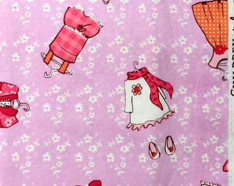 Sarah Jane Children at Play Just Stay Little pink Michael Miller fabric FQ or more