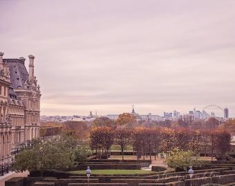 paris photography, travel photography, louvre museum, Musée du Louvre, france, fall, french home decor / louvre no. 3 / 8x10 fine art photo