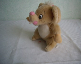 Teddy bear vintage stuffed mouse toy, collection