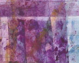 Geometry 2017 III - monoprint, small format art, original art