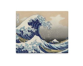"""The Great Wave Off Kanagawa by Hokusai 1832 