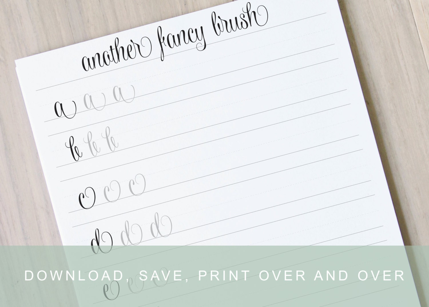 Free Templates Hand Lettering Template