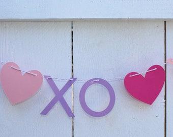 "Valentine' Day ""XO XO XO"" Banner"