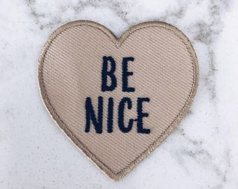 Be Nice Patch
