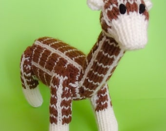Toy Giraffe, soft toy, plush toy, stuffed toy, baby toy, knitted toys