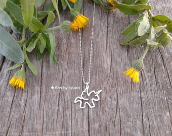 Unicorn Necklace-925 sterling silver