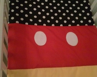Mickey. inspired mini quilt