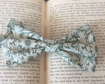 Sage Green Bow Tie, Botanical Print, Liberty Bow Tie, Wedding Bow Tie, Gift For Men