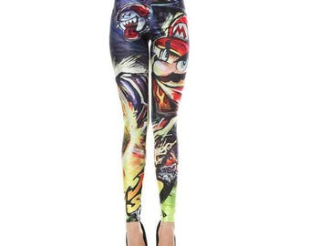 Super Mario Nintendo Leggings