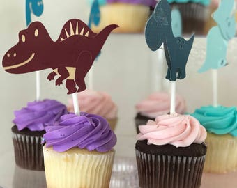Custom cupcake topper