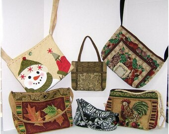 BAGS, PURSES and TOTES ~ Sewing E-pattern by Judi Ward