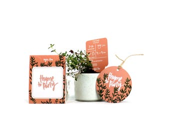 Thyme to Party Gift Pack of Seeds