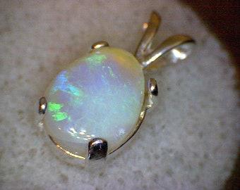 Beautiful Lightning Ridge Australian Opal Pendant