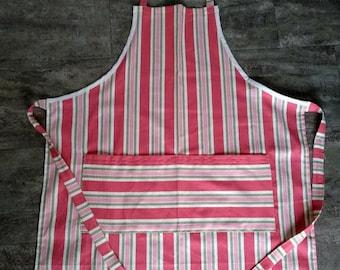 Candy Stripes Kitchen Apron