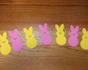 bunny banner. Easter banner, Easter decorations