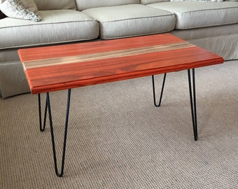 Padauk U0026 Zebra Wood Coffee Table