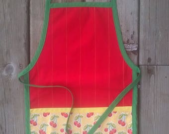 The Blue Pine Toddler Apron - Paint Smock - Kids Apron - Child Apron - Play Apron