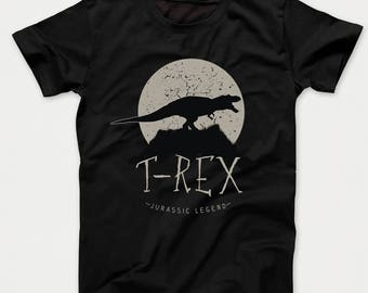 T-Rex Jurassic Legend Dinosaur Kids T-Shirt