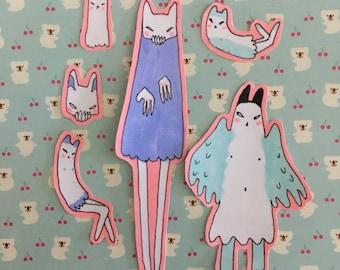 Halloween Stickers Pack #4