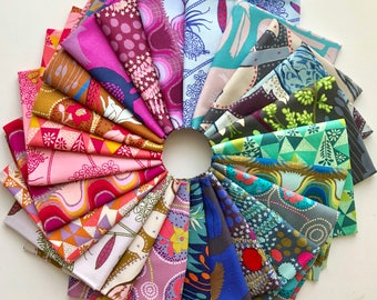 Sweet Dreams Fat Quarter Bundle of Anna Maria Horner Fabrics -- 24 in total
