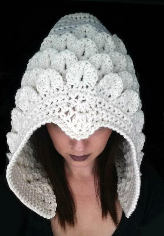 Celestial Crocodile Hood Crochet Pattern Crocodile Stitch