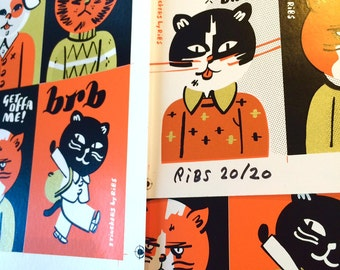 BRB: Uncut Production Sheet by Weissman