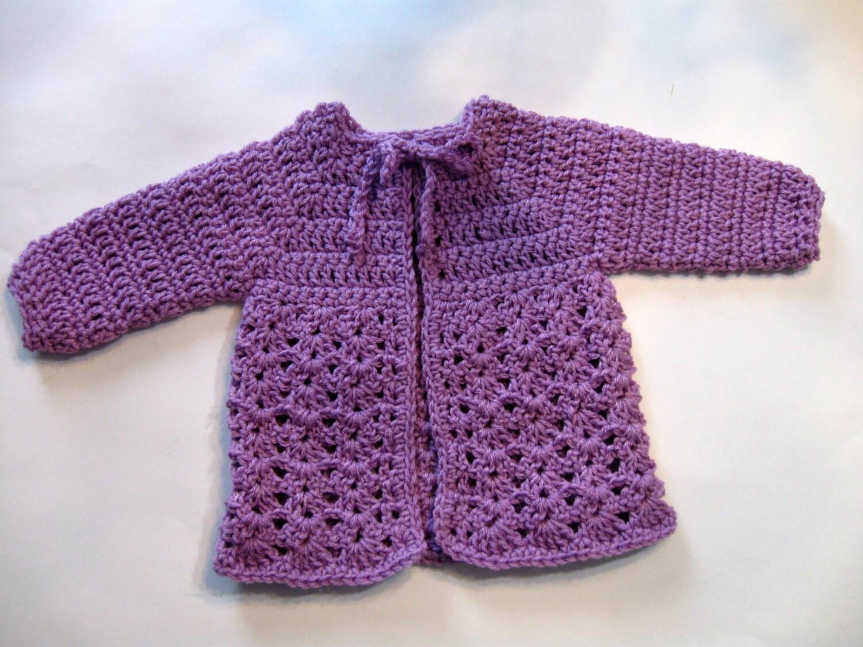 Instant Download, Crochet Baby Sweater Pattern, Beginner Pattern ...