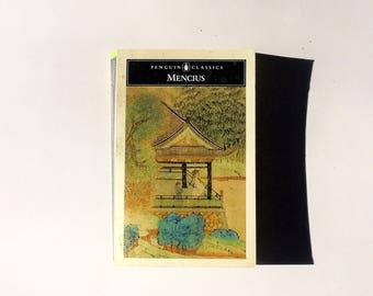 MENCIUS (1970, Penguin Classics) Vintage Paperback ~ Eastern Philosophy