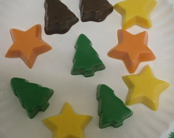 12 piece Christmas Tree and Star Peanut Butter Cups