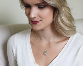 LOCKET Necklace, locket necklace personalized, photo locket necklace, picture locket necklace, sterling silver locket, locket