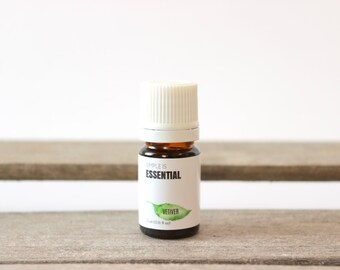 Vetiver Essential Oil - 100% Pure Essential Oil, Soap making Essential Oil, Masculine Earthy Scent Oil, Canadian Essential Oil Company