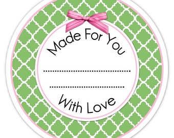 Custom Canning Labels, Made For You Stickers, Personalized Labels, From The Kitchen Stickers, Vanilla Stickers