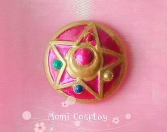 Sailor Moon Brooch Cristal Star Compact
