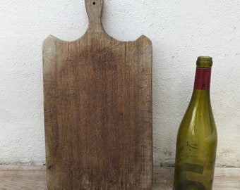 ANTIQUE VINTAGE FRENCH bread or chopping cutting board wood! 2304184