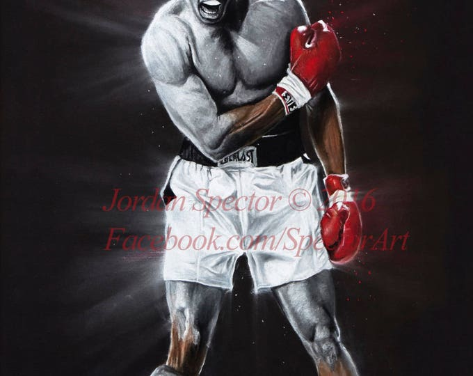 "Muhammad Ali ""The Great Ali"" open edition art print - 16x20 inches"