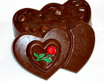 Double Heart Chocolate Box