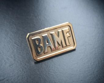 Overwatch McCree BAMF Pin