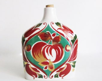 VINTAGE ORNATE bottle/ VASE, use to decorate your house, collect,anything you can imagine.