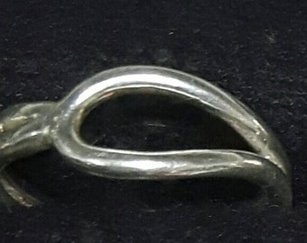 Mexican style silver ring