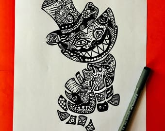 Coloring Pages For Adults Homes : Adult coloring pages etsy