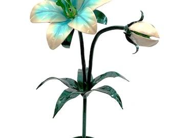 Handmade Silent Princess replica metal lily