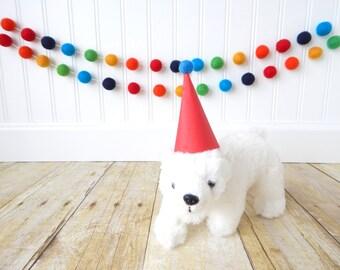 Baby Boy Nursery, Party Decorations, Boy Birthday Garland, Birthday Party Decor, Birthday Decorations, Rainbow Garland, Boy Baby Shower
