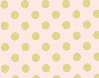 Quarter Dot Pearlized in Confection  dc3744 - GLITZ - Michael Miller Fabrics - By the Yard