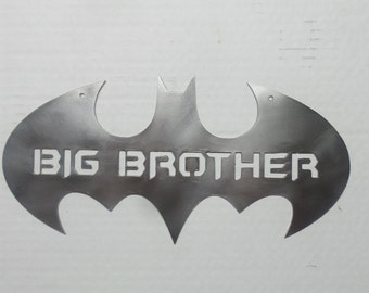 Batman gran hermano Batman símbolo signo Metal B33