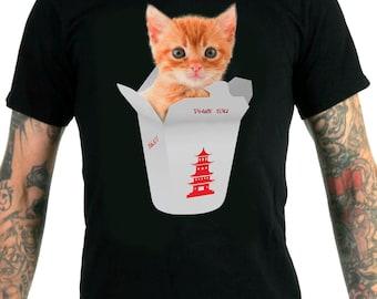 Kitty Takeout Men's T-Shirt