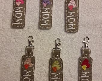 Key Fob - Mom Heart