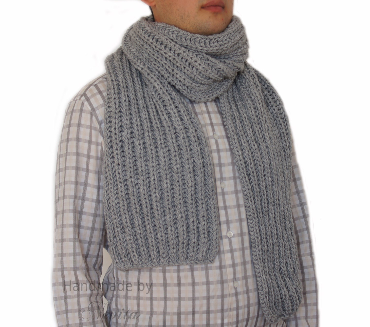 Old Fashioned Mens Knitted Scarf Patterns Picture Collection ...