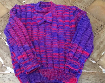 Childs Hand Knitted Sweater / Jumper
