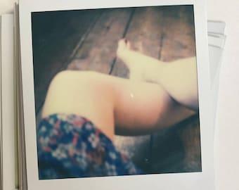 Original Polaroid 13 - Self-Portrait - Leanne Surfleet